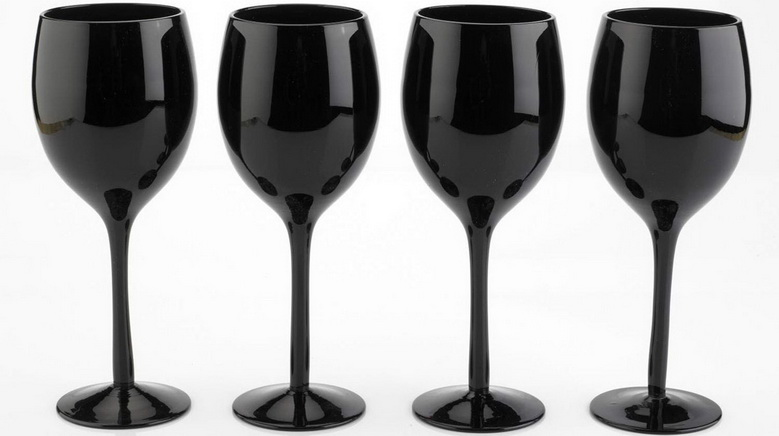 my kitchen rules with black wine glasses we find